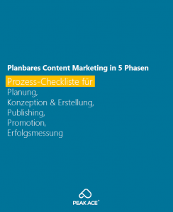 Content-Marketing-Prozess-Checkliste