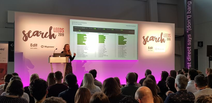 Coley Bird at SearchLeeds 2019
